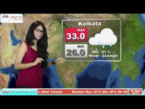 May 25, 2013 - Skymet Weather Report for India
