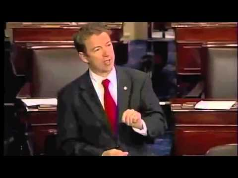 Sen. Rand Paul 1 year Anniversary of Filibuster
