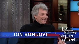 Jon Bon Jovi Is A Rock 'n Roll Hall Of Fame Inductee