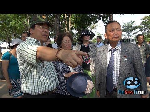 Đoàn Việt kiều Trường Sa 2014 viếng thăm nghĩa trang Bình An (p1)