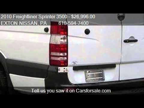 2010 Freightliner Sprinter 3500 3500 Van - for sale in Exton