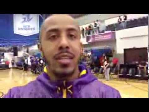 Marques Houston At Kobe Bryant Dubai Celebrity Game