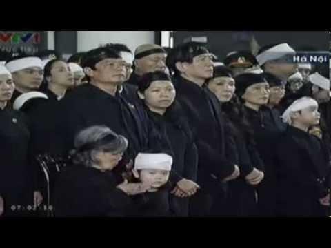 Video clip Điếu văn Đại tướng Võ Nguyên Giáp