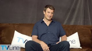 Nathan Fillion on 'The Rookie' vs. 'Castle,' Spoofing 'Firefly'   Comic-Con 2018   TVLine