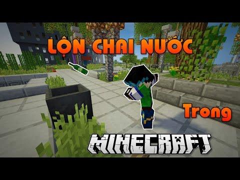 Minecraft | THỬ THÁCH LỘN CHAI NƯỚC | + Đăng video TRỄ & sắp THI!!! 😱