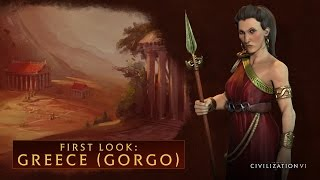 Sid Meier's Civilization VI - Greece (Gorgo)