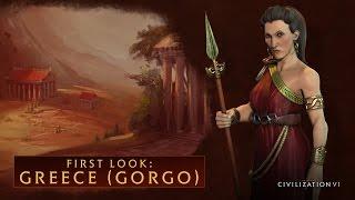 Sid Meier's Civilization VI - Görögország (Gorgo)