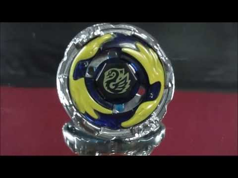 BB-124-FX Kreis Cygnus 145WD REVIEW and TEST Beyblade Hyperblades SPARK FX (Hasbro) HD! AWESOME