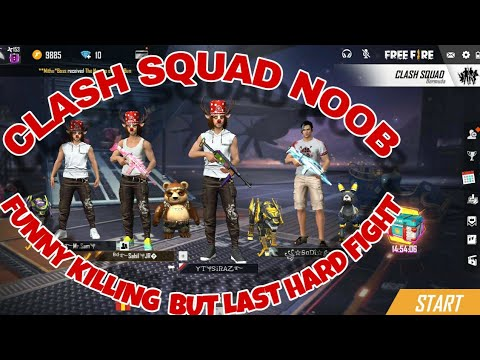 CLASH   SQUAD   NOOB   FUNNY   KILLING PARR 1 |[ACTION GAMING BD]