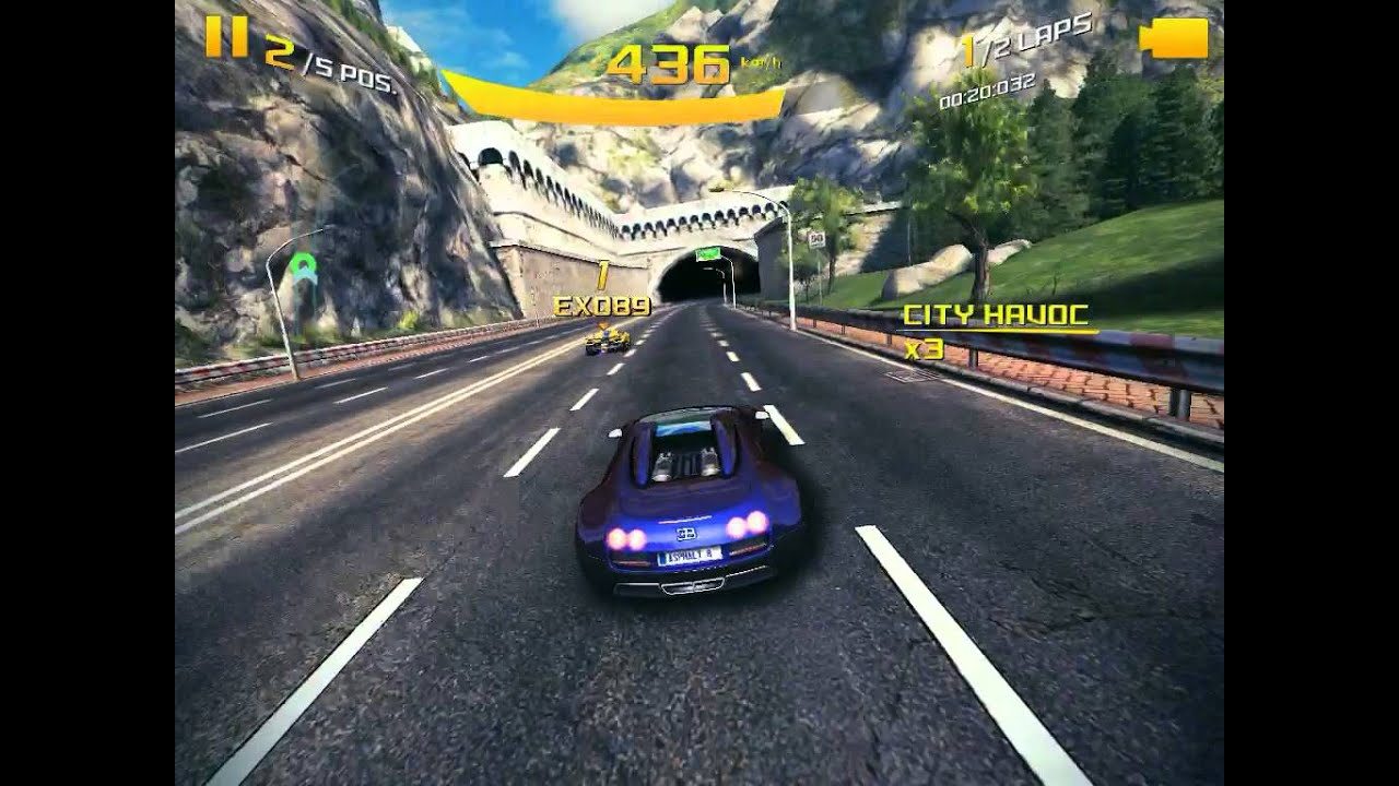 asphalt 8 airborne bugatti 16 4 grand sport vitesse gameplay video for ipad youtube. Black Bedroom Furniture Sets. Home Design Ideas