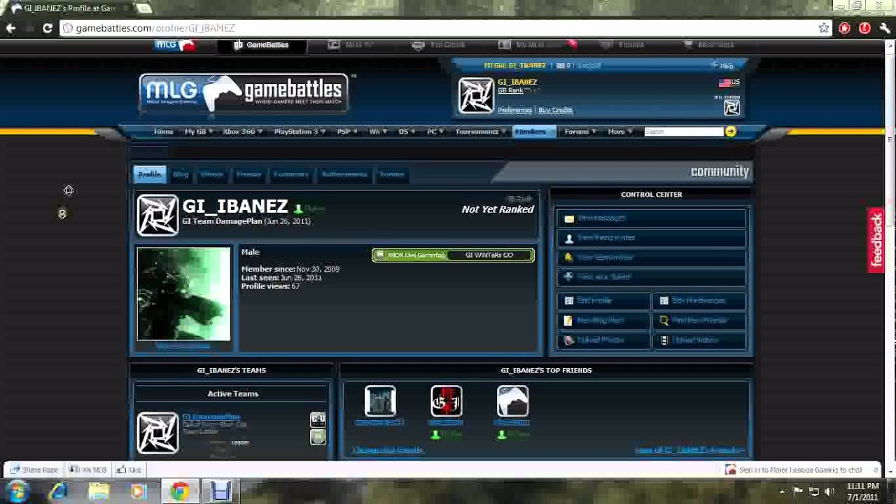 How To Make A Gamebattles Account
