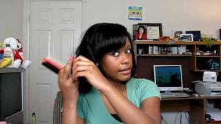 Part 2: How To Wrap Your Hair At Night To Get Soft Bouncy