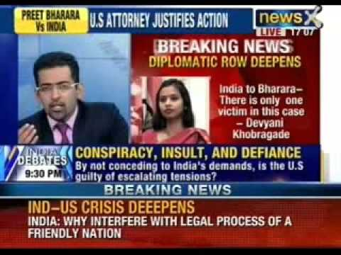 NewsX: India to Bharare - There is only one victim in this case - Devyani Khobragade