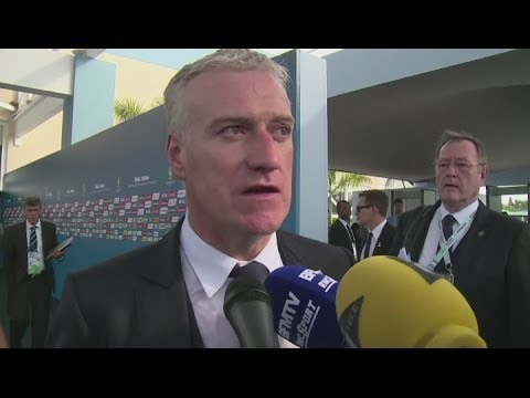 Hitzfeld and Deschamps pleased with World Cup draw