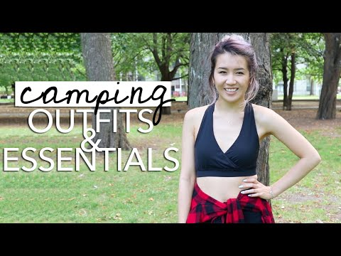 Outdoor/Camping Essentials + Outfits