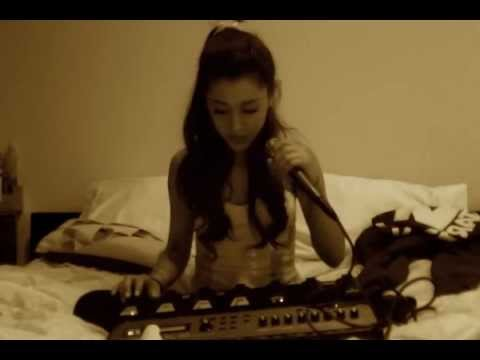 """""""Just For Now"""" - Ariana Grande ( Imogen Heap cover ), Enjoy! I love Imogen Heap with all my heart. I know I'm not supposed to use these foot petals like this but it works lol."""