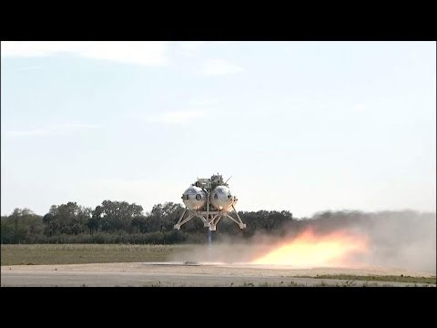 NASA Tests New 'Morpheus' Lander