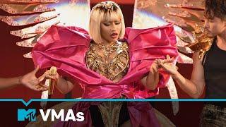 "Nicki Minaj Performs ""Majesty,"" ""Barbie Dreams,"" ""Ganja Burn,"" ""FeFe"" MTV VMAs   Live Performance"