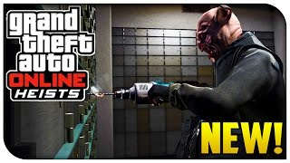 GTA 5 Online HEIST DETAILS! How To Start, 20 Different