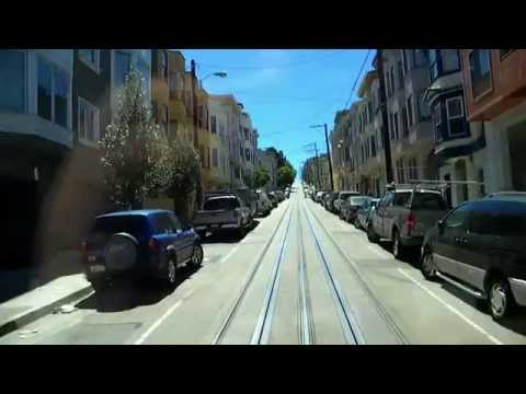 San Francisco Powell Street Cable Car - Complete Ride
