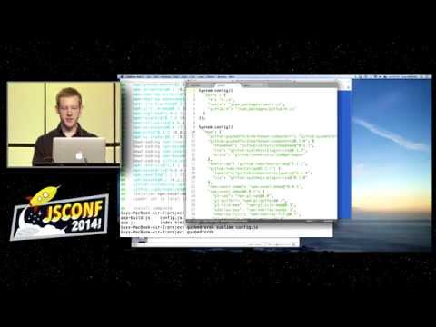 Guy Bedford: Package Management for ES6 Modules [JSConf2014]