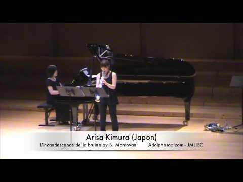 3rd JMLISC Arisa Kimura (Japan) L'incandescence de la bruine by B. Mantovani