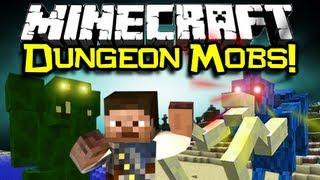 Minecraft DUNGEON MOBS MOD Spotlight Dungeons & Dragons