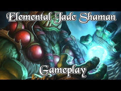 Gameplay: Elemental Jade Shaman Kobolds And Catacombs (Hearthstone Guide How To Play)
