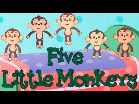 Five Little Monkeys - Nursery Rhyme