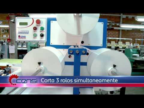 Máquina de Cortar e Empilhar não Tecido - Ponto Fixo 27-3212-7777