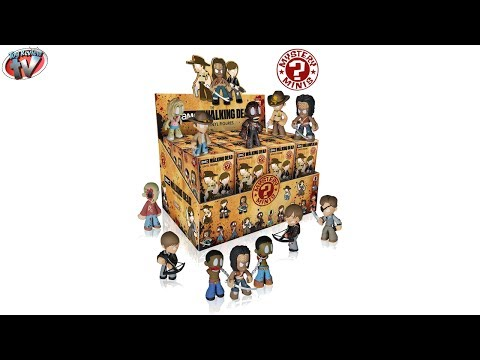The Walking Dead Series 2: Mystery Minis Blind Box Vinyl Figures Toy Review, Funko