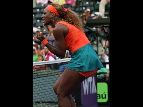 NO 3RD SET! SERENA WILLIAMS DEF COCO VANDEWEGHE SONY OPEN 2014