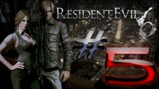 Resident Evil 6 Detonado (Walkthrough) Leon Parte 5 HD
