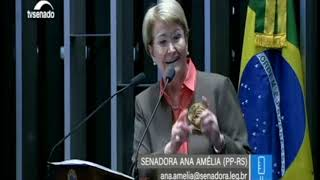 Senadora Ana Amélia fala sobre fake news