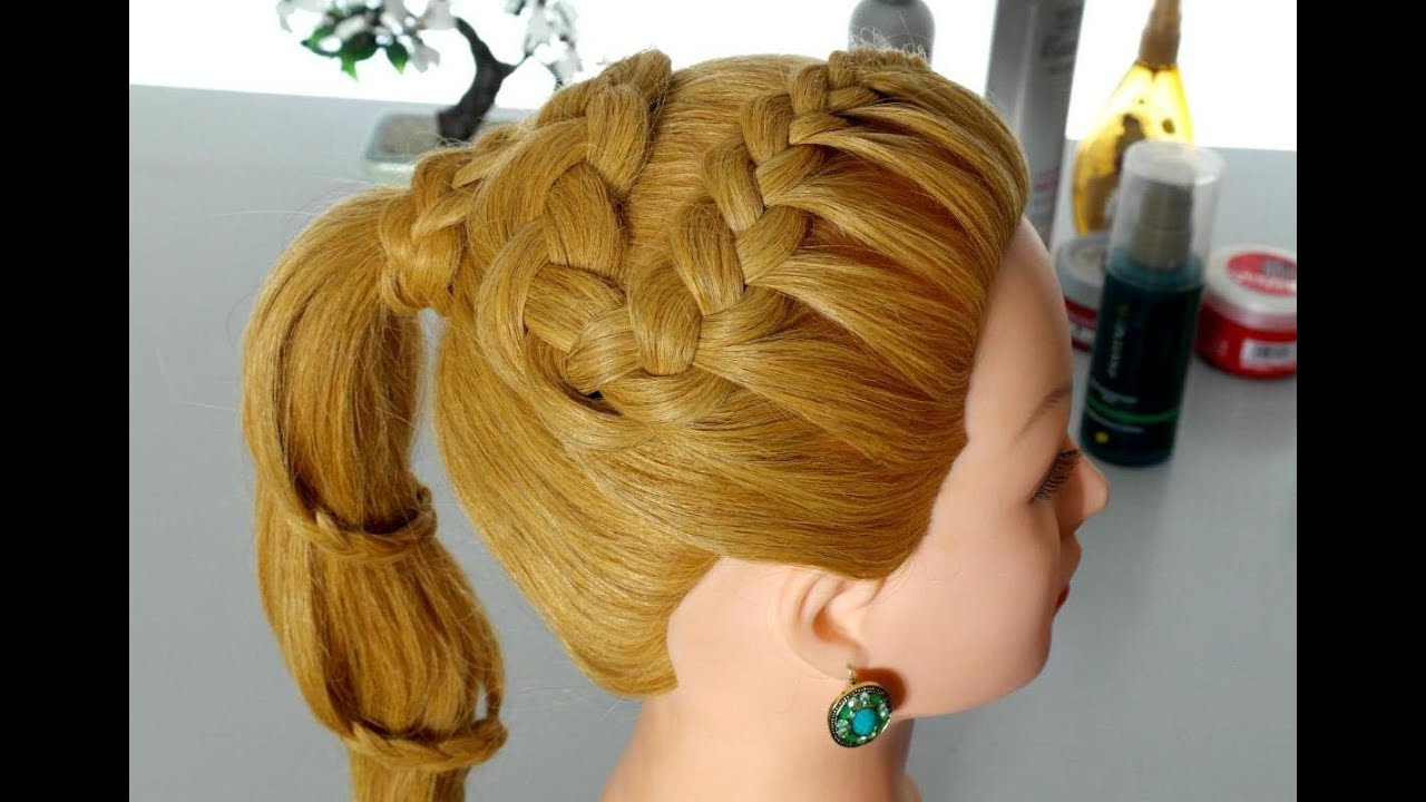 Hairstyles for everyday. Braided hairstyles for long hair ...