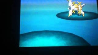 How To Catch Arceus In Pokemon Black Version