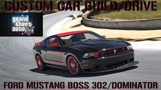 GTA 5 Custom Car Build/Drive #36 Ford Mustang Boss 302