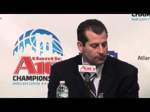#6 UMass Post Game Press Conference vs. #3 George Washington - #A10MBB Championship