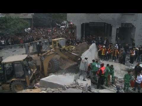 Israeli air strike hits Gaza