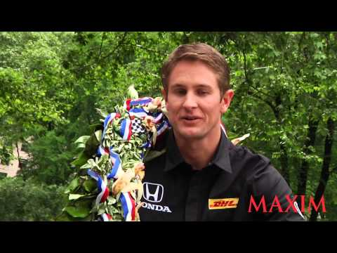 Maxim Takes a Spin With 2014 Indy 500 Winner Ryan Hunter-Reay