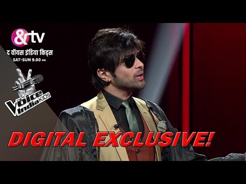 Coach Himesh Turns Justice Judge | Moment | The Voice India Kids - Season 2