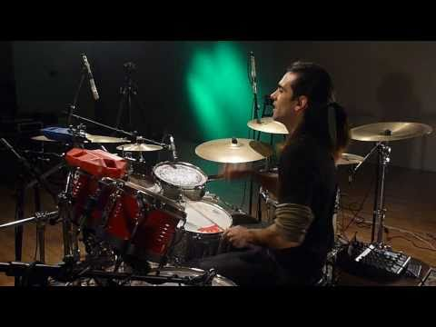 Fede - The Police - Roxanne (Drum Cover) FT. Alvaro Rabaquino on Vocals