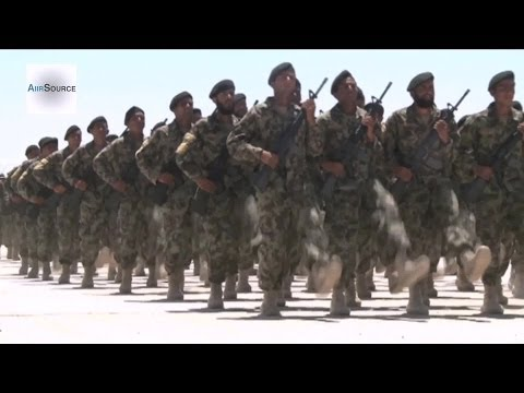 Afghan Army Training (2014)