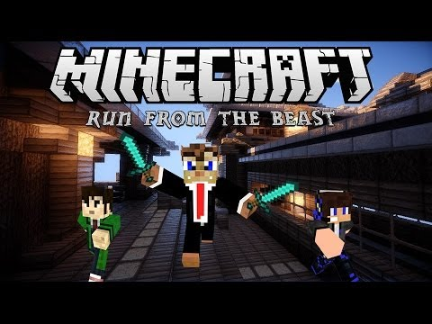 ΠΑΡΚΟΥΡ ΣΚΙΛΛΖ (Minecraft: Run From The Beast)