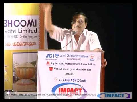 BE A WINNER PART {1} by Sri YANDAMOORI VEERENDRANATH  at IMPACT 2012 HYDERABAD