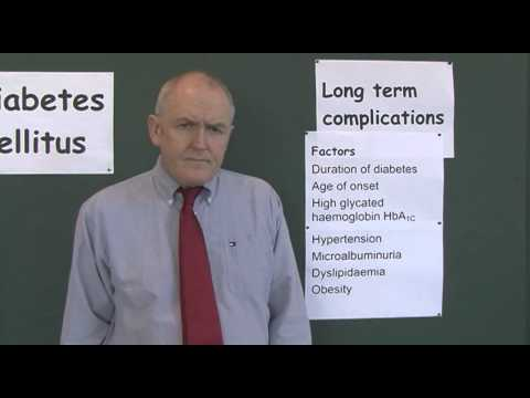 Diabetes 17, Long term complications of diabetes