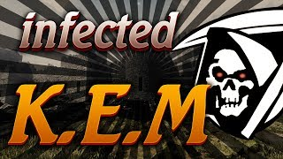 CoD Ghosts KEM Strike on INFECTED (K.E.M Gameplay)