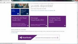 Descargar E Instalar Visual Studio 2012 GRATIS FACIL