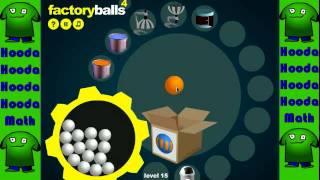 Factory Balls 4 Walkthrough Levels 12-19 - YouTube