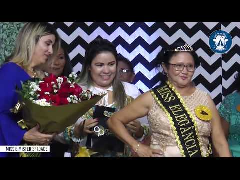Elegância e simpatia marcam coração de Miss e Mister Sênior 2019